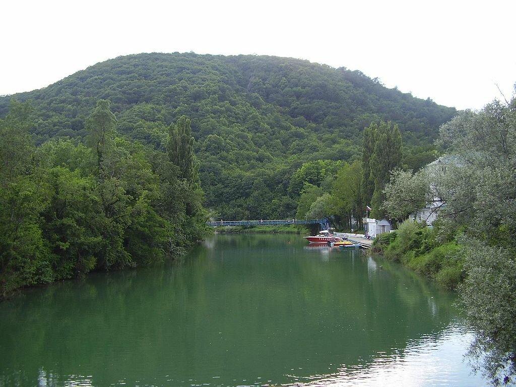 Река Вулан в Архипо-Осиповке