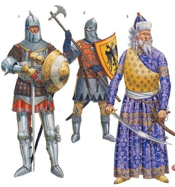 Последние варяжские гвардейцы в Византии